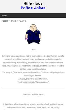 Hillarious Police Jokes! apk screenshot
