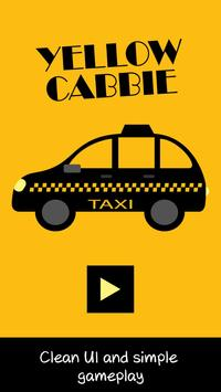 Yellow Cabbie - taxi arcade game poster