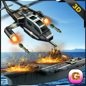 Navy Battleship Gunship Attack icon