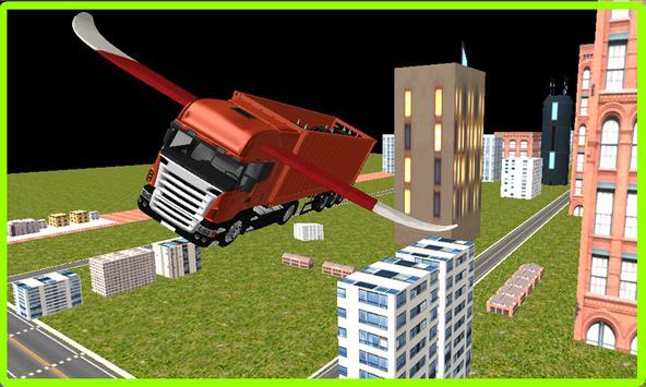 Flying Car: Transporter Truck apk screenshot
