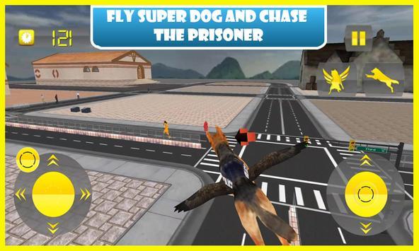 Flying Police Dog Prison Break poster