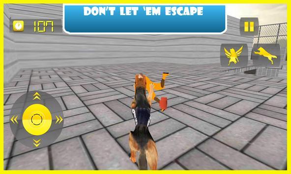 Flying Police Dog Prison Break apk screenshot