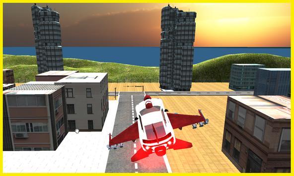 Flying Car Free Futuristic F16 poster
