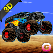 MMX Racing: Monster Truck Hill icon