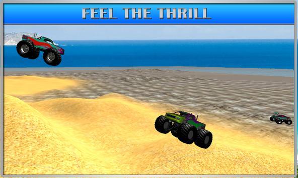 MMX Racing: Monster Truck Hill apk screenshot
