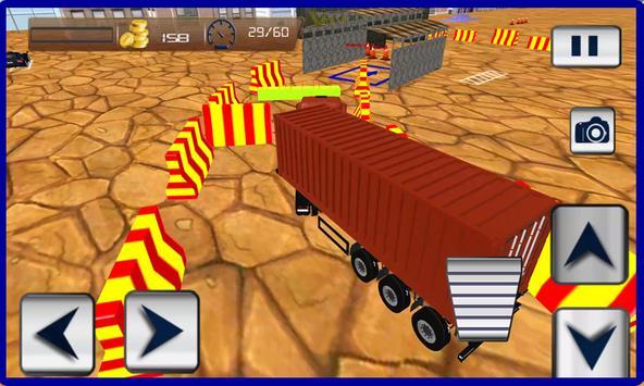 Trucker Parking Reborn 2016 apk screenshot