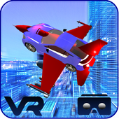 VR Flying Car Flight Simulator icon