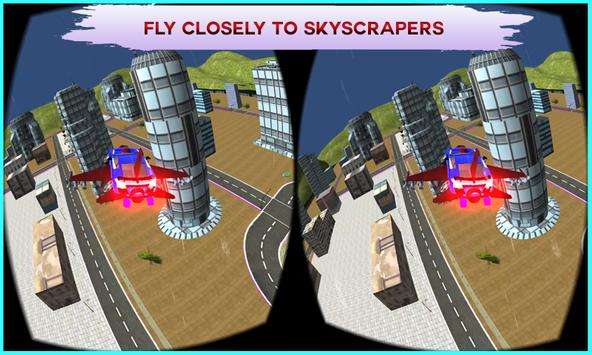 VR Flying Car Flight Simulator apk screenshot