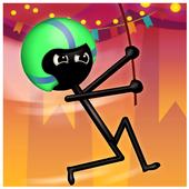 Stickman Jumper Rope Hero icon