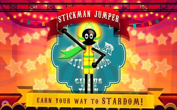 Stickman Jumper Rope Hero poster