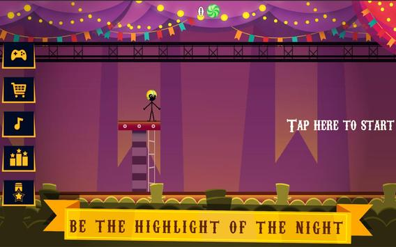Stickman Jumper Rope Hero screenshot 1