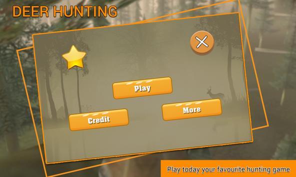 Deer Hunting Game poster
