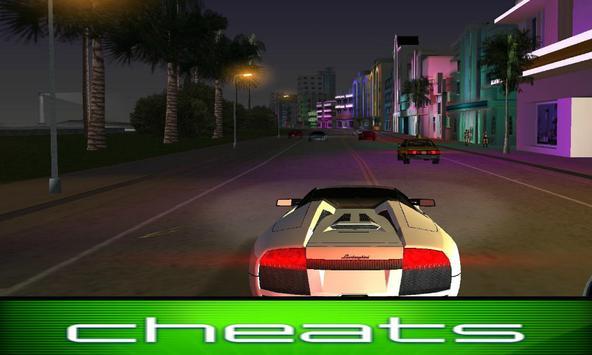 Cheats GTA Vice City screenshot 1