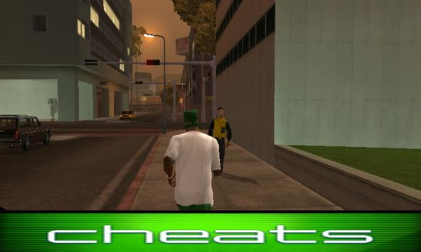 Cheat Codes GTA San Andreas apk screenshot