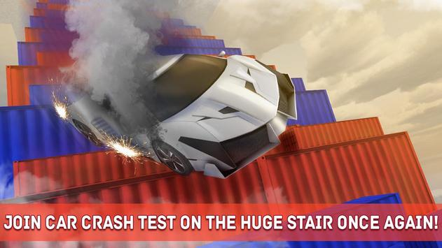 Death Fall Stair Crash Test 2 Poster