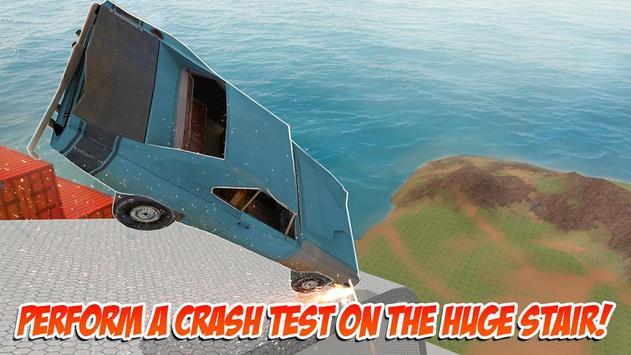 Death Fall: Stair Crash Test apk screenshot