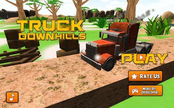 Truck Hills Climb Racing screenshot 1