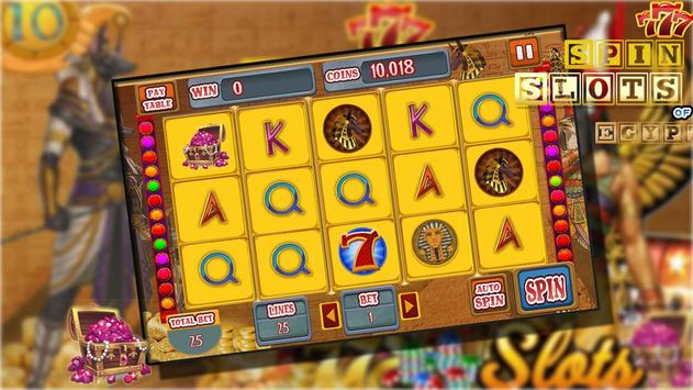 Spin Slots Egypt screenshot 1