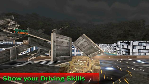Roof Top Car City Stunt screenshot 5