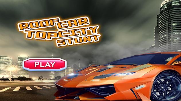 Roof Top Car City Stunt screenshot 9