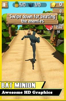 BATMINION 3D SUBWAY BANANA RUN apk screenshot