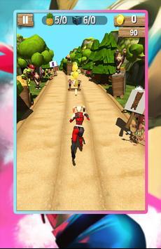 Harley Railway Quinn Runner screenshot 3