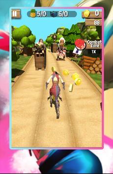 Harley Railway Quinn Runner screenshot 1