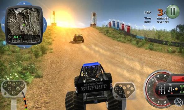 Monster Truck racing 3D screenshot 5