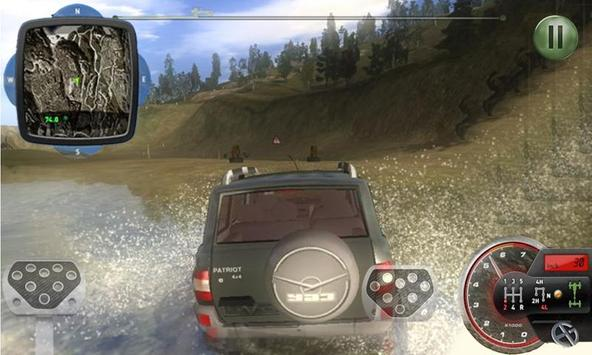Monster Truck racing 3D poster