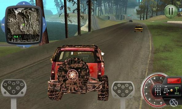 Monster Truck racing 3D screenshot 1