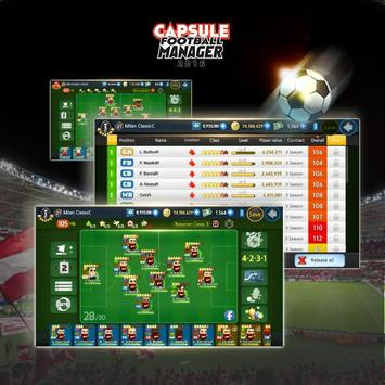 Capsule Football Manager 2016 apk screenshot