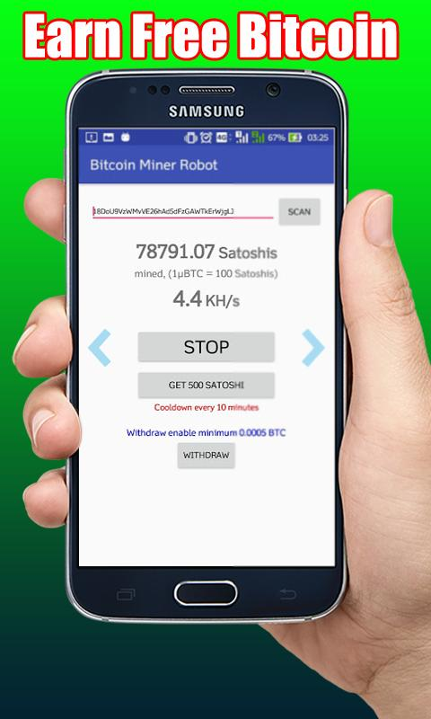 Bitcoin Mobile Miner - Real Bitcoin Miner for Android - APK