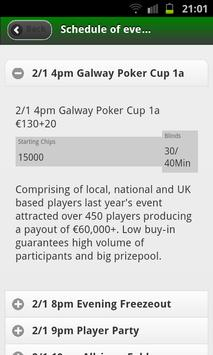 Galway Poker Festival screenshot 2