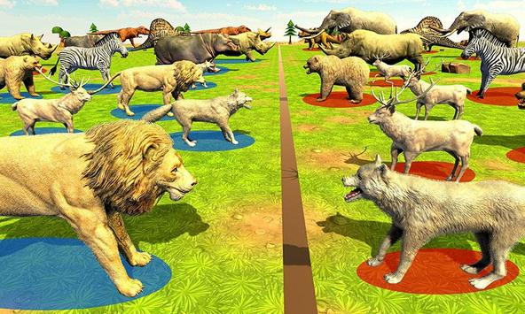 Wild Animals Kingdom Battle poster