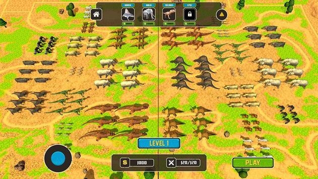 Wild Animals Kingdom Battle screenshot 14