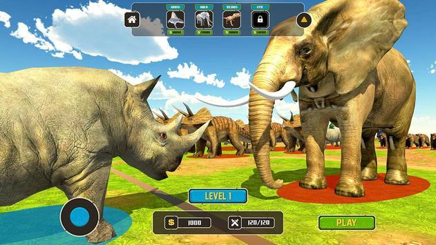 Wild Animals Kingdom Battle screenshot 13