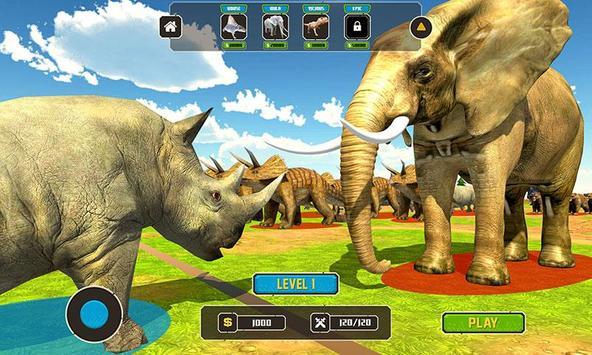 Wild Animals Kingdom Battle screenshot 2