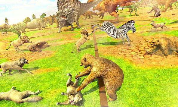 Wild Animals Kingdom Battle screenshot 3