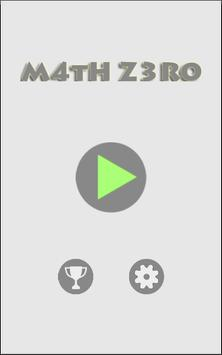 Math Zero apk screenshot