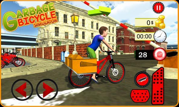 Garbage Bicycle Kids Rider 3D poster
