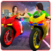 Girls Biker Gang 3D icon
