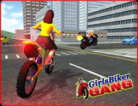 Girls Biker Gang 3D screenshot 7