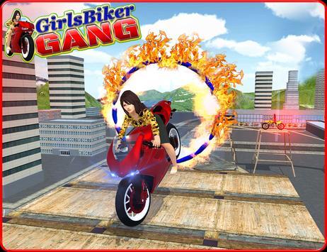 Girls Biker Gang 3D screenshot 8