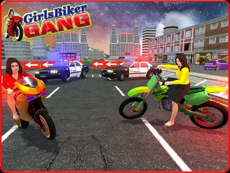 Girls Biker Gang 3D screenshot 10