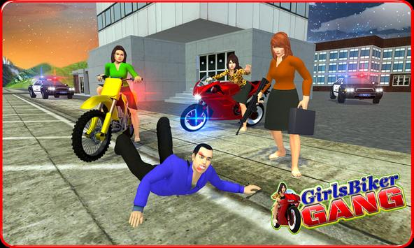 Girls Biker Gang 3D apk screenshot