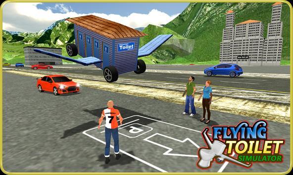 Flying Toilet Emergency Driver screenshot 4