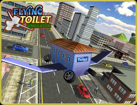 Flying Toilet Emergency Driver screenshot 5