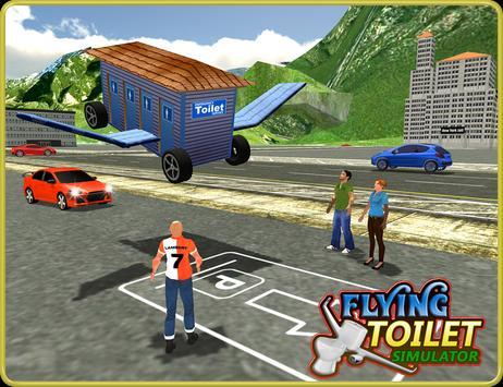 Flying Toilet Emergency Driver screenshot 8