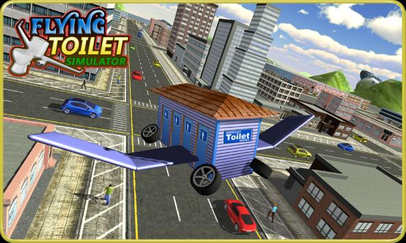 Flying Toilet Emergency Driver poster