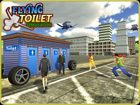 Flying Toilet Emergency Driver screenshot 13